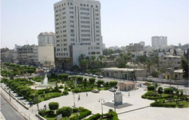 Gaza buildings