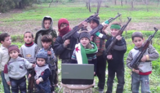 Syrian child soldiers