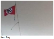 Nazi Flag Beit Umar Oct 20 2013